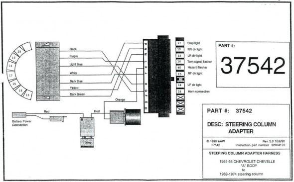 ididit steering column wiring diagram  steering column