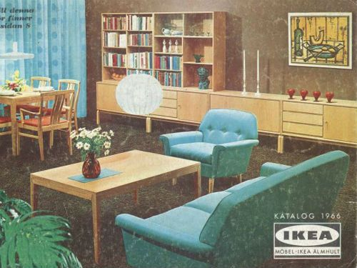 IKEA Catalog cover from 1966