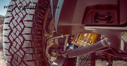 Шевроле Колорадо ZR2 - пикап для экстремальной езды #МойВнедорожник #Внедорожники #кроссоверы #джипы #пикапы #4х4