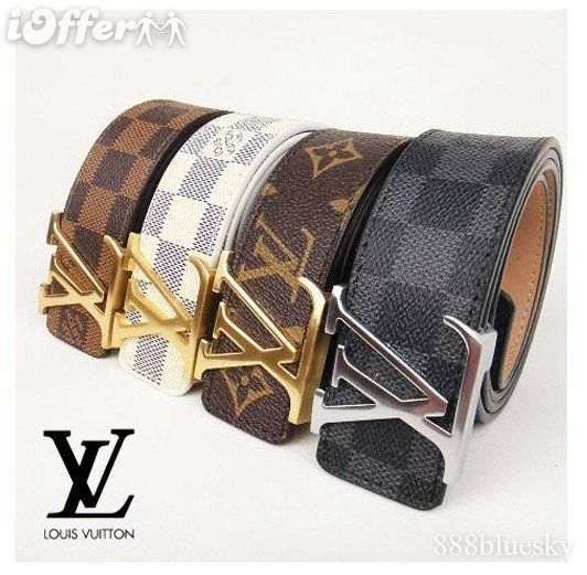 Louis Vuitton Belts Original