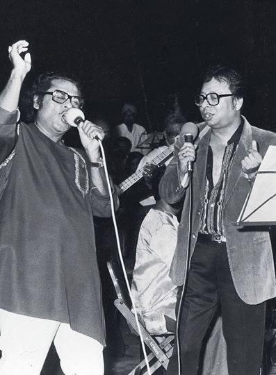 Kishore Kumar and RD Burman -- 2 Legends!