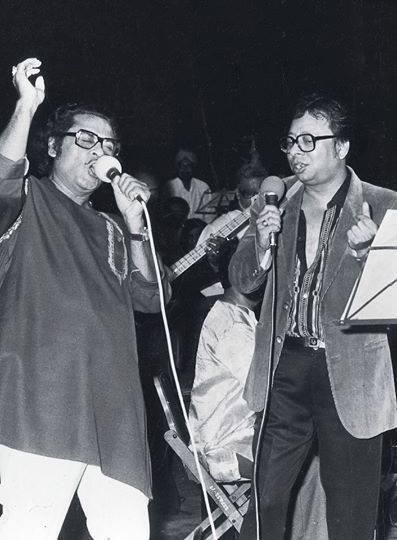 Kishore Kumar and RD Burman -- 2 Legends!