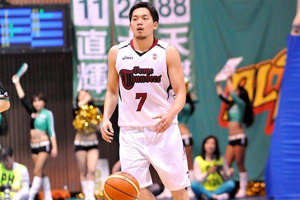 東芝ブレイブサンダース神奈川#7篠山竜青選手