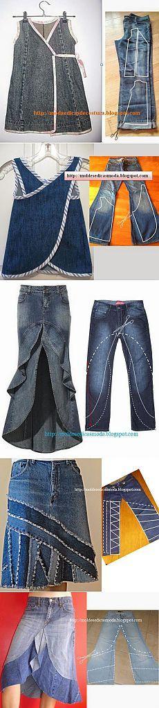 Переделочки из джинсов