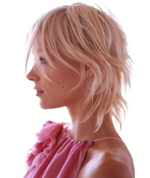 Razor cut layered short hair.  *bellaMUMMA {life is beauty-full}: weekend hair: CUTE SHORT CUT