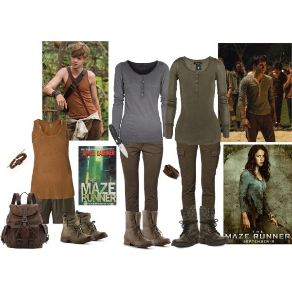 fancy maze runner outfit polyvore 3