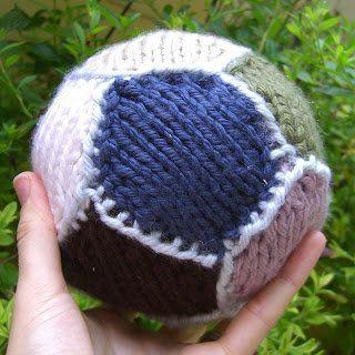 Free Knitting Pattern - Toys, Dolls & Stuff Animals: Simple Ball