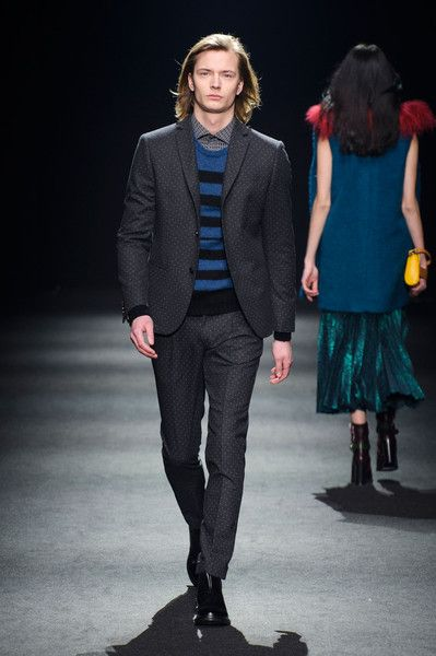 Massimo Rebecchi at Milan Fashion Week Fall 2015 - Runway Photos