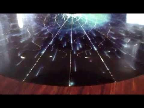 Posadzki żywiczne z światłowodami E-TECHNOLOGIA - Podłoga 3D zestaw Fala Świetlna - YouTube