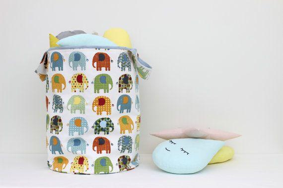 Large Laundry Hamper Laundry Basket Toy Storage от ProstoConcept