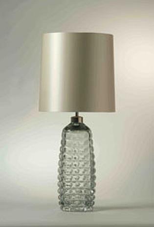 honeycomb glass lamp