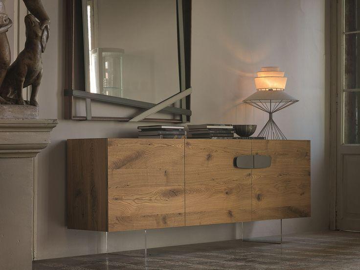 Madia in legno con ante a battente NEBRASKA by Cattelan Italia design Paolo…