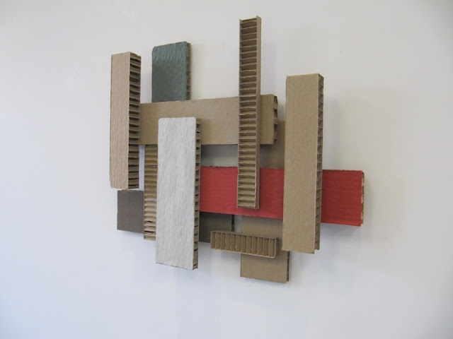 Cardboard Wall Art Made From Ikea Packaging Outside The Box Cardboard Art Pinterest De