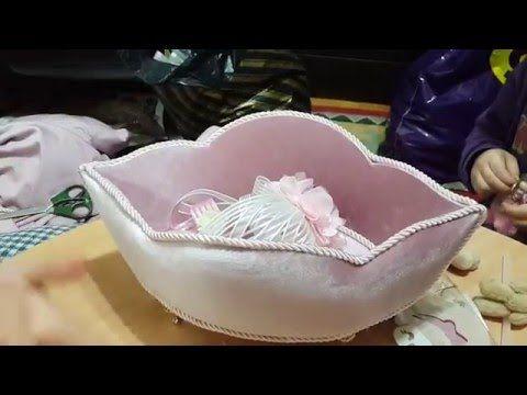 Kadife Havlu Kutusu Yapımı - YouTube