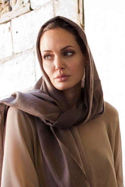 angelina jolie in pakistan as goodwill ambassador