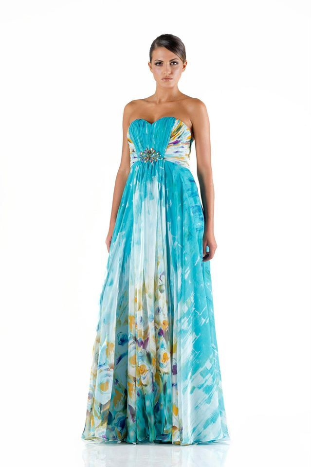 #glamour #fashion #springsummer 2014 #woman #girl #cocktaildress  #partydress #dress #longdress #abitoelegante #flowers #fantasia #aperitif