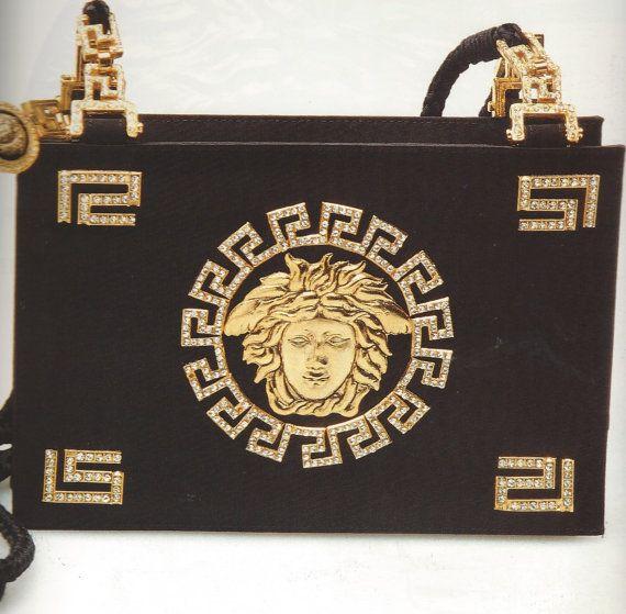 Vintage Versace Medusa Signature Handbag by ABITIVINTAGE on Etsy, $1500.00