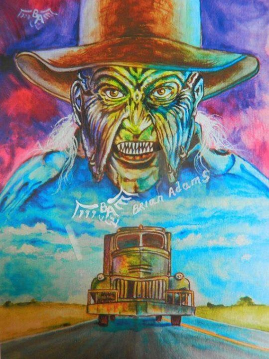 Jeepers Creepers Art by Brian Adams
