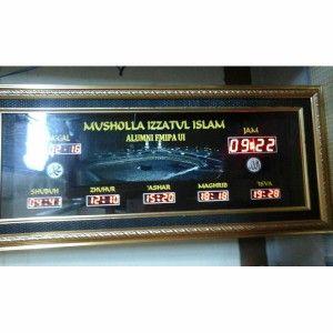 Jam digital masjid jual jadwal sholat digital otomatis murah Universitas Indonesia