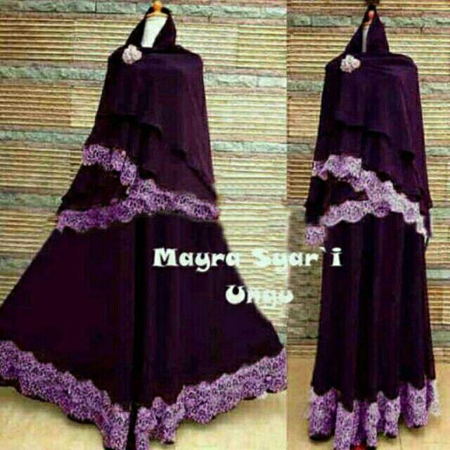 Saya menjual Mayra syari ungu seharga Rp155.000. Dapatkan produk ini hanya di Shopee! http://shopee.co.id/alunashop/4072722 #ShopeeID