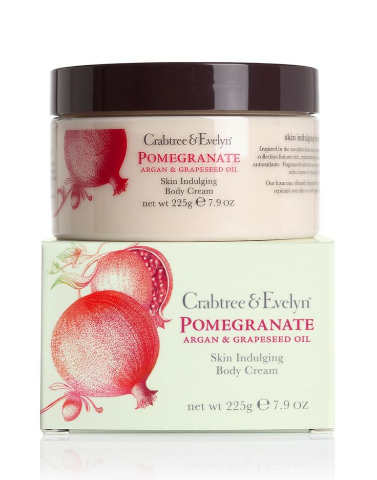 CRABTREE & EVELYN | Pomegranate, Argan and Grapeseed Body Cream - Women - Style36  #style36 #xmasshopping #wishlist