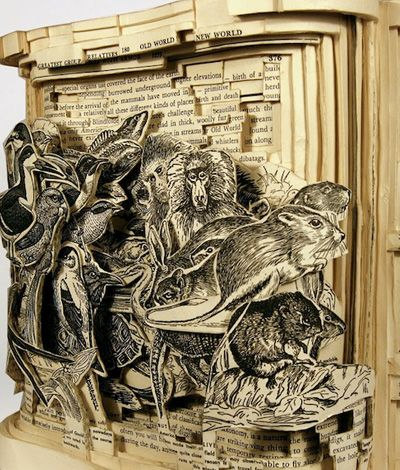 Best Book Sculptures Images On Pinterest Paper Sculptures - Artist creates amazing paper sculptures ever seen