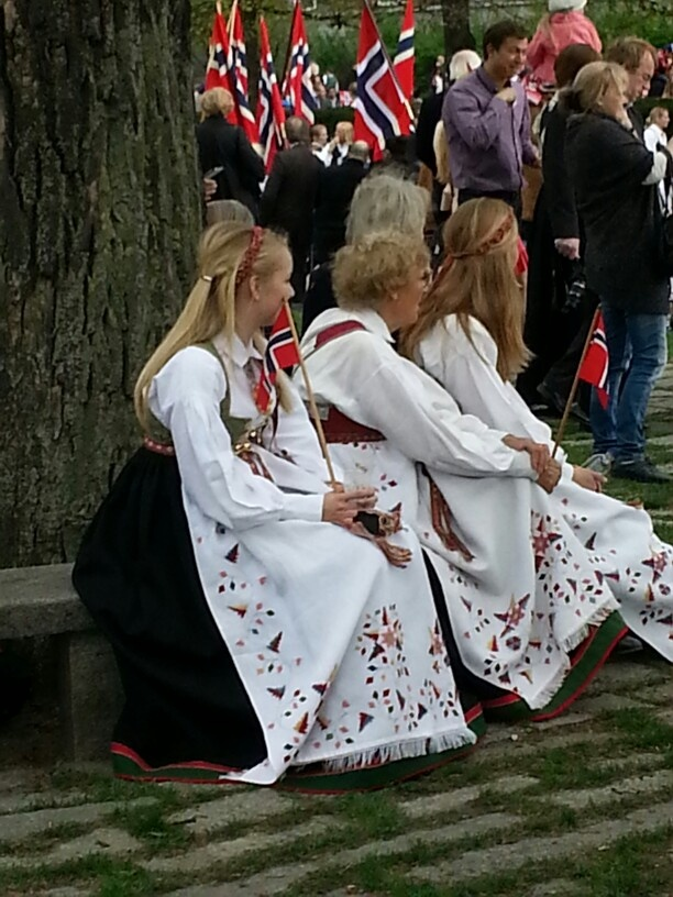 Bunad (norway national day 2013)