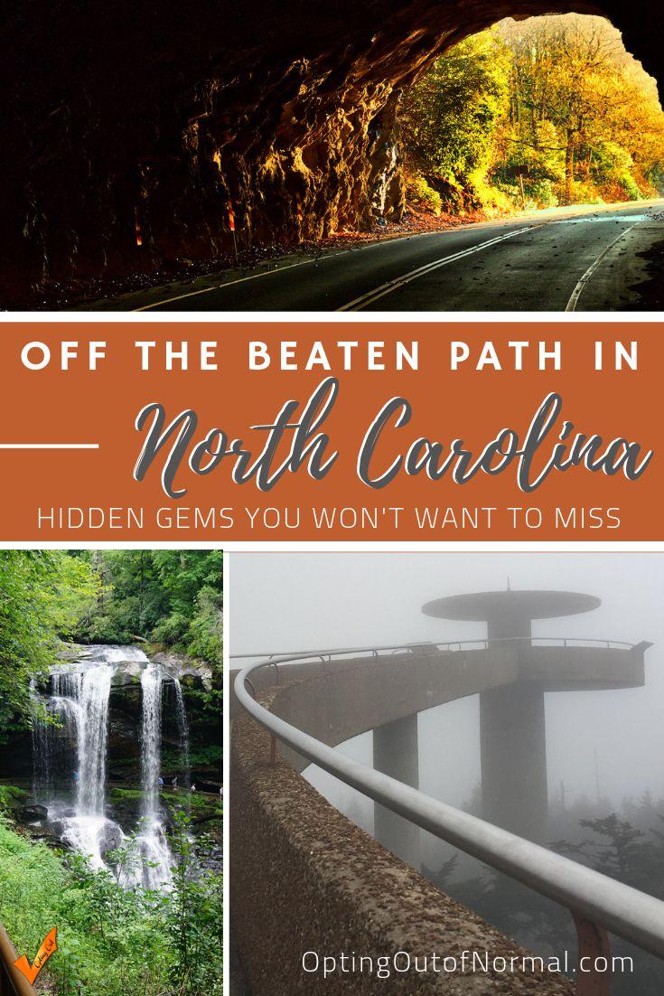 Explorando gemas ocultas en Carolina del Norte
