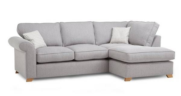 Angelic Left Arm Facing Corner Deluxe Sofa Bed  | DFS