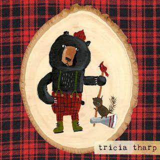 #Lumberjack #bear by Tricia Tharp