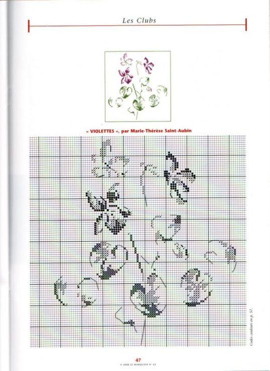 (83) Gallery.ru / Дизайны Marie-Therese Saint-Aubin (MTSA). - ЦВЕТЫ И НАСЕКОМЫЕ Дизайны Marie-Therese Saint-Aubin (MTSA) - innsanna