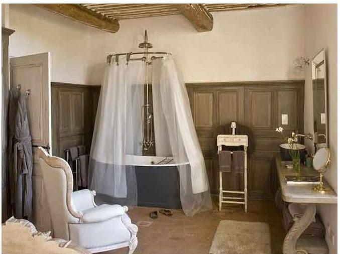Provence syle bath.