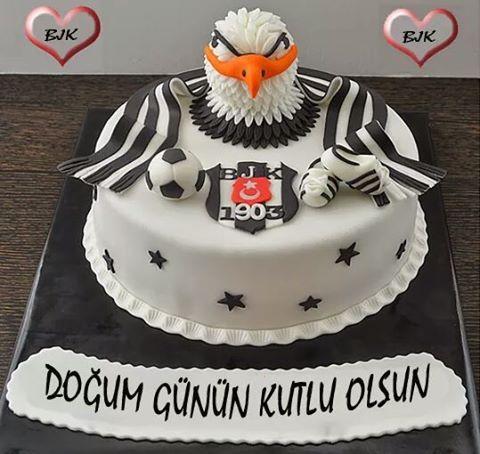Beşiktaş pasta tasarımı