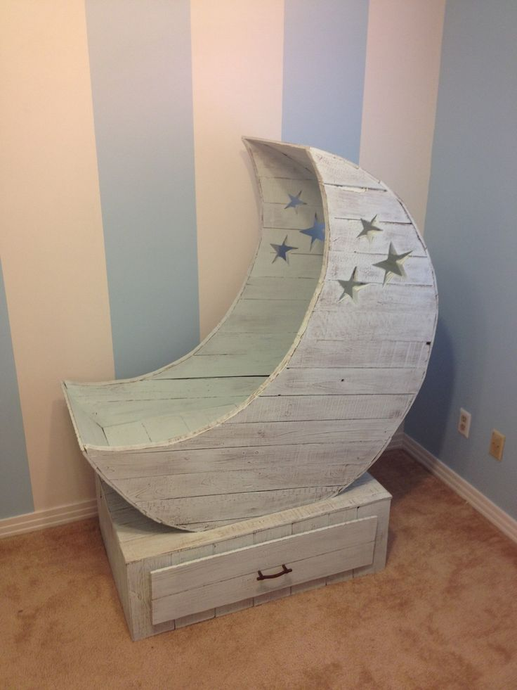 Moon Cradle DIY tutorial. This is just beautiful. Like, I want to have a baby just to justify this beautiful.