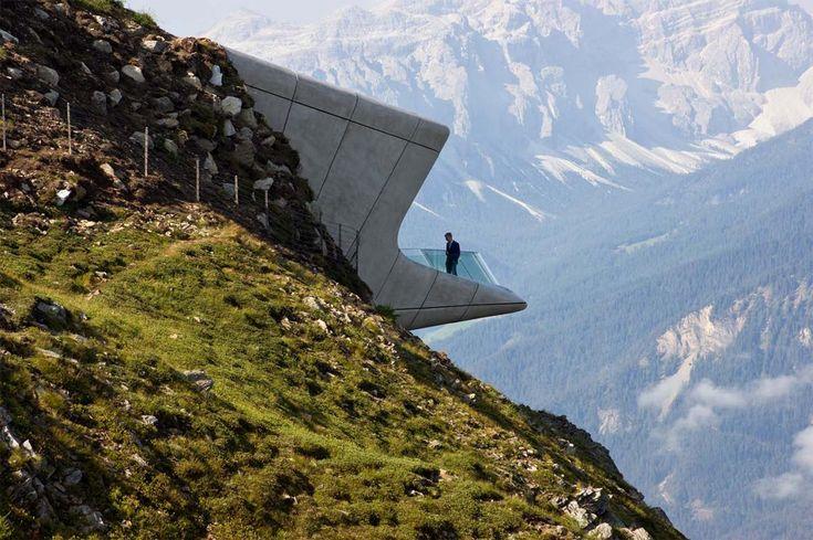 Zaha Hadid Architects, Messner Mountain Museum Corones, Plan de Corones, Italy