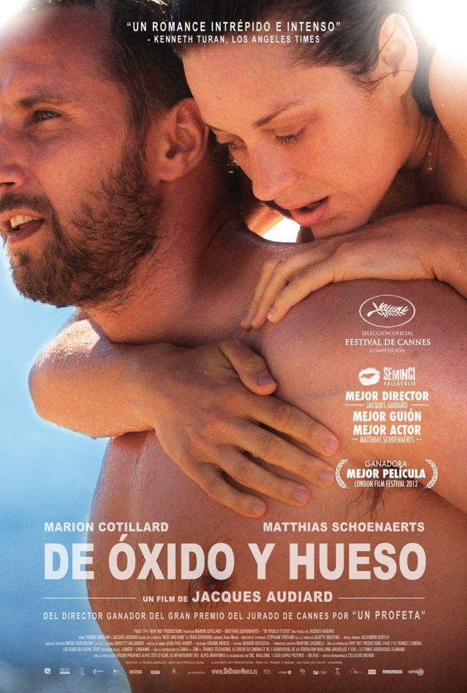 """""""De oxido y hueso"""" #pelicula recomendada al 100%! (y eso casi muero ahogada en mi propio llanto) #drama #cine"""