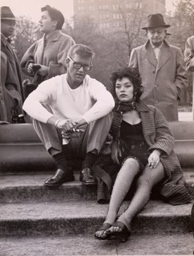 cool people have been around for quite some time....Beatniks in NYC (1955) photo by Weegee
