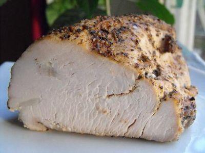 Пастрама из индюшиной грудинки за 15 мин : Вторые блюда