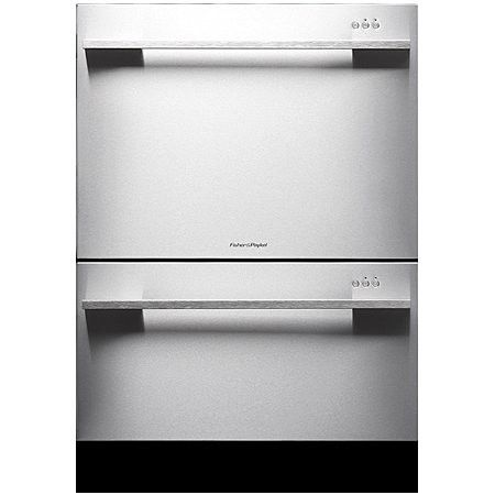 Fisher & Paykel Stainless Steel Tall Double DishDrawer - DD24DDFTX7: Remodelista