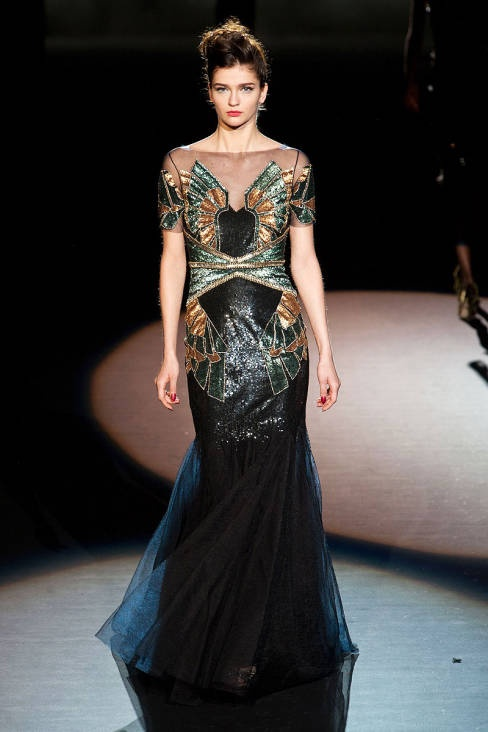 Badgley Mischka Fall 2013 Ready-to-Wear Runway - Badgley Mischka Ready-to-Wear Collection - ELLE