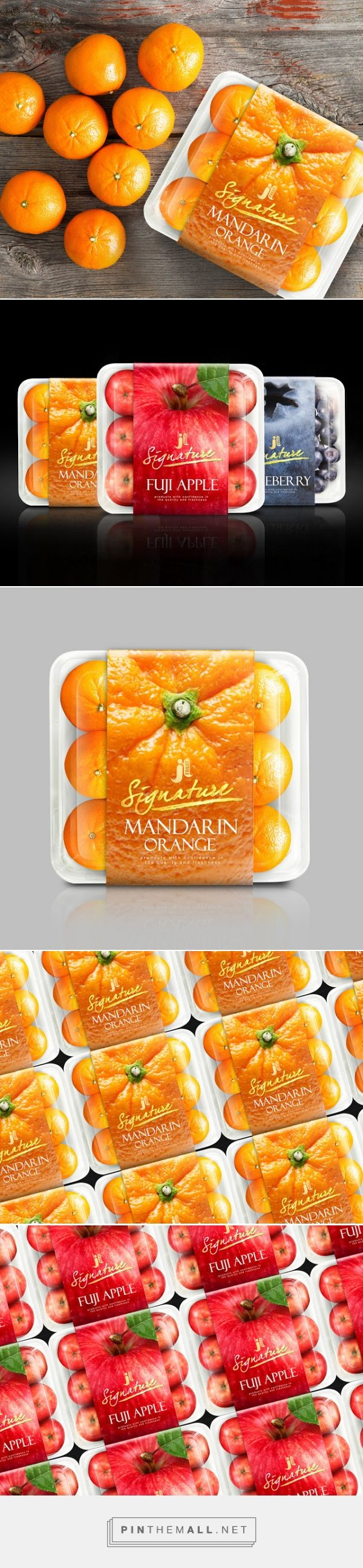 JL #Fruit #Packaging designed by Prompt Design - http://www.packagingoftheworld.com/2015/04/jl-fruit-packaging-design.html