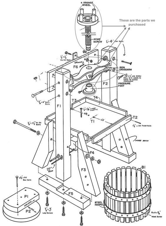 27 best apple crusher and juice press images on Pinterest