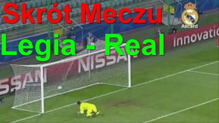 Legia Warszawa vs Real Madrid 3:3 Skrót Meczu  PL 2/11/2016