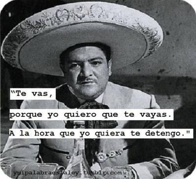 ...porque quieras o no yo soy tu dueña- José Alfredo Jiménez