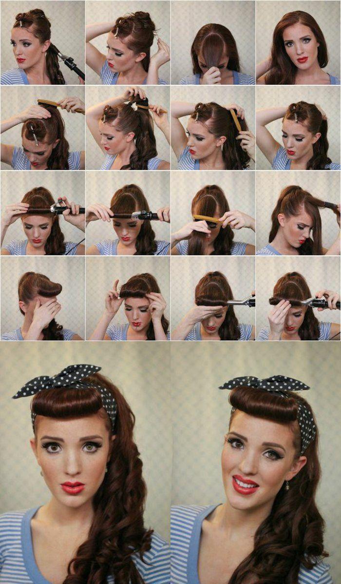1000 id es propos de coiffures bandana sur pinterest bandeau cheveux coiffures de camping. Black Bedroom Furniture Sets. Home Design Ideas