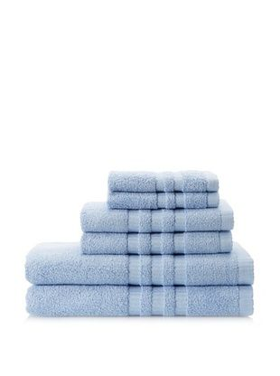 51% OFF Terry Towels 6-Piece Towel Set, Sky