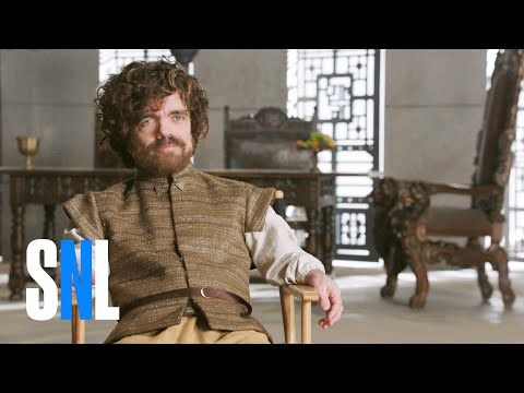 Game of Thrones Sneak Peek - SNL - YouTube- I thought the guy playing the dragon was pretty funny.