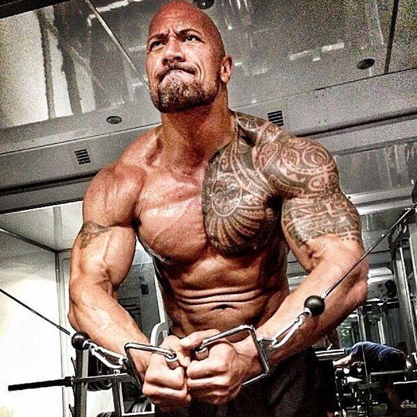 The Rock 'Hercules' | The Rock s'entraine vraiment fort pour son prochain film Hercules.