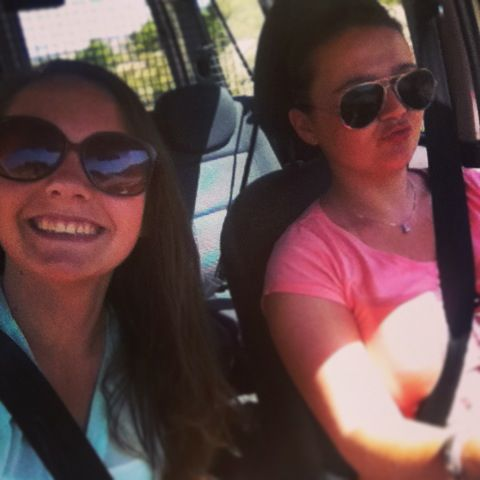 Eerste keer in Spanje met Chris auto rijden:)