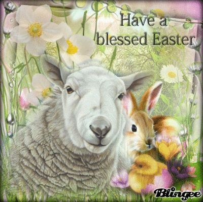 To All My Blingee Friends ... Have A Blessed Easter
